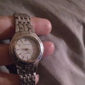 Diamond Anne Klein Watch